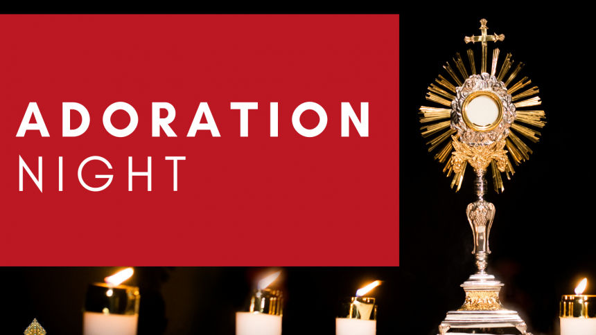Adoration Night Invitation